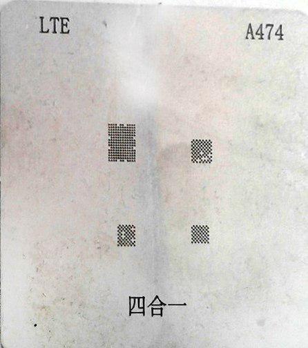 شابلون A474 مناسب پایه سازی آی سی های گوشی موبایل