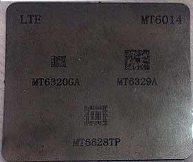 شابلون MT6014 مناسب آی سی تغذیه و وای فای مدیاتک برد گوشی موبایل