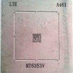 شابلون A461 مناسب پایه سازی و ریبال کردن آی سی تغذیه MT6353V