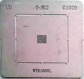 شابلون G1020 مناسب آی سی WTR1605L برد گوشی موبایل شیائومی 2