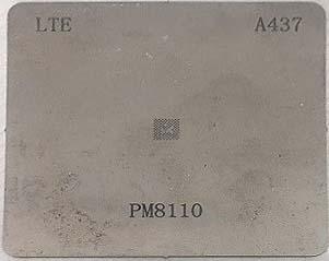 شابلون A437 مناسب آی سی تغذیه کوالکام PM8110 برد گوشی های موبایل هواوی
