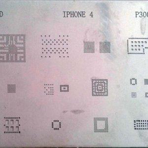شابلون آی سی P3001 مناسب پایه سازی IC برد گوشی های موبایل آیفون 4
