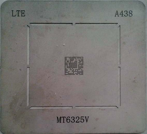 شابلون A438 مناسب آی سی تغذیه مدیاتک MT6325V برد گوشی های موبایل