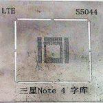 شابلون S5044 مناسب پایه سازی آی سی برد گوشی موبایل سامسونگ NOTE 4