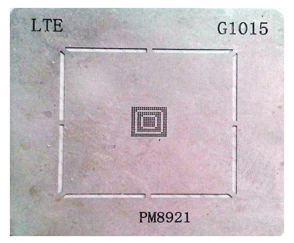 شابلون G1015 مناسب آی سی تغذیه PM8921 کوالکام