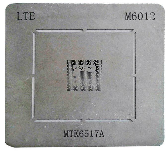 شابلون M6012 مناسب پایه سازی آی سی تغذیه MTK 6517A برد گوشی