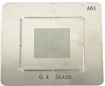 شابلون همه کاره A61 مناسب پایه سازی آی سی های برد گوشی های موبایل
