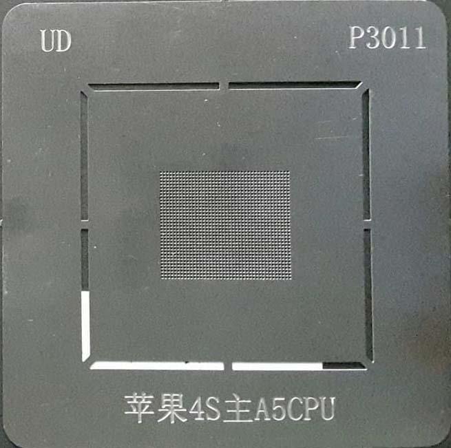 شابلون P3011 مناسب پایه سازی آی سی سی پی یو A5 گوشی موبایل آیفون ۴
