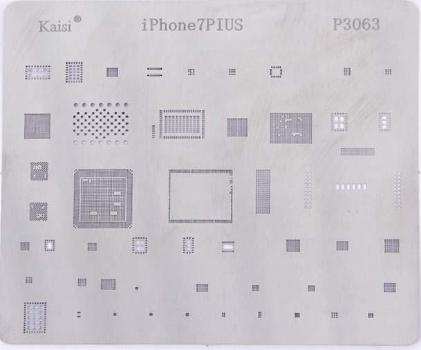 شابلون kaisi چند منظوره P3063 مناسب آی سی های برد گوشی موبایل آیفون +۷