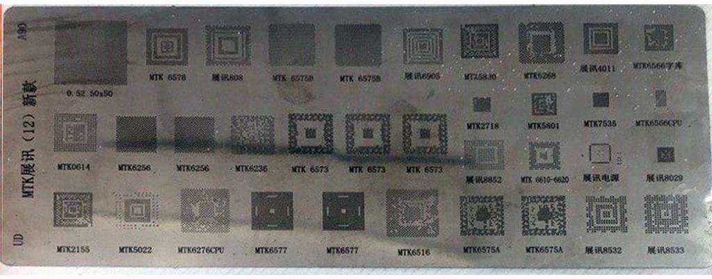 شابلون همه کاره MTK A90 مناسب پایه سازی آی سی های برد گوشی موبایل