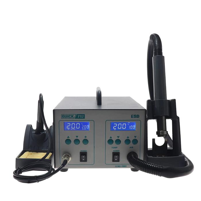 هیتر و هویه دیجیتال کوییک مدل 712 Quick مناسب تعمیرات برد گوشی موبایل