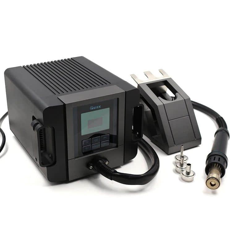 هیتر دیجیتال کوییک مدل QUICK TR 1300A مناسب تعمیرات حساس گوشی