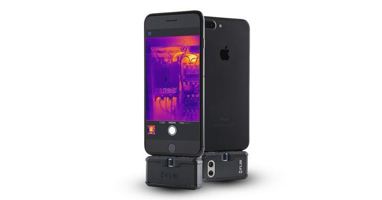 دوربین حرارتی FLIR ONE PRO IPHONE مناسب عیب یابی برد گوشی