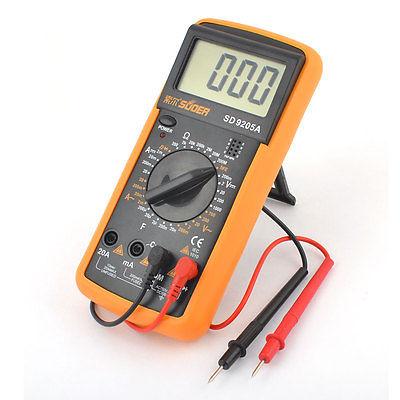 مولتی متر نیمه حرفه ای دیجیتالی SD مدل 9205A مناسب تعمیرات گوشی موبایل