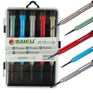 ست ابزار پیچ گوشتی چند منظوره 5 عددی BAKU BK-5530