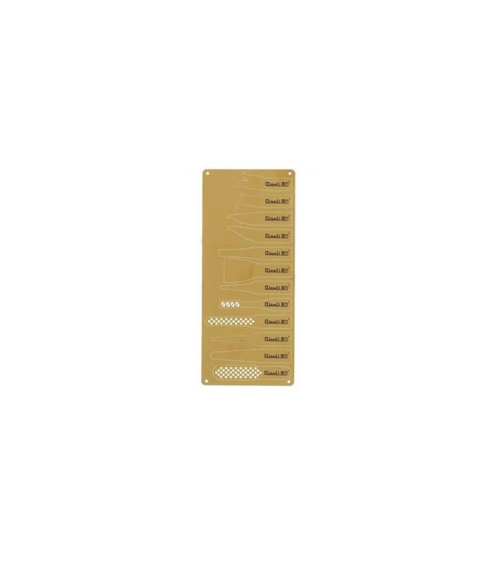 دسته تیغ و کاتر QIANLI 009 با ۱۲ تیغه مناسب تعمیرات CPU گوشی موبایل