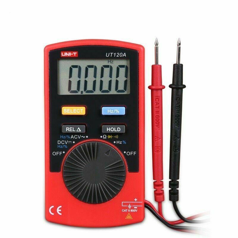 مولتی متر قابل حمل دیجیتالی UNI-T UT120A مناسب تعمیرات گوشی موبایل