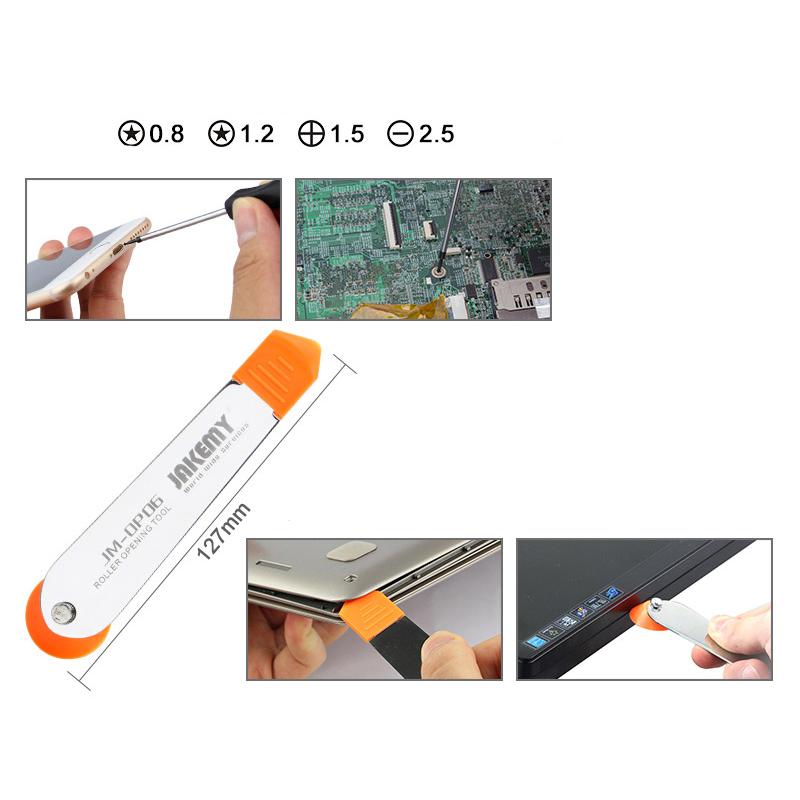 ست ابزار پیچ گوشتی ۱۸ در ۱ حرفه ای JAKEMY JM-9103 مناسب تعمیرات
