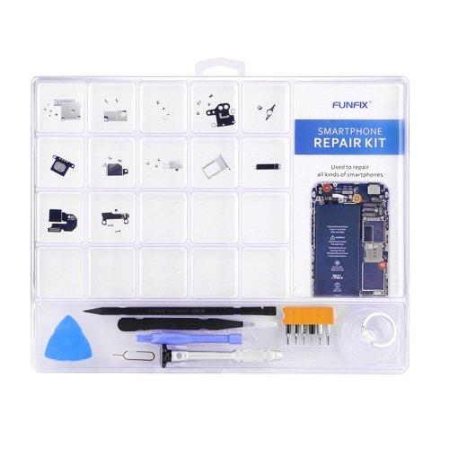 ست ابزار پیچ گوشتی و تیغه ۱۴ در ۱ FUNFIX Repair Kit تعمیرات آیفون