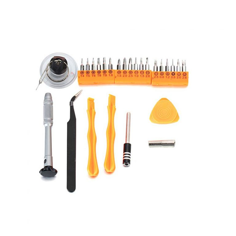ست ابزار پیچ گوشتی 26 در 1 چندکاره JAKEMY JM-8144 تعمیرات موبایل