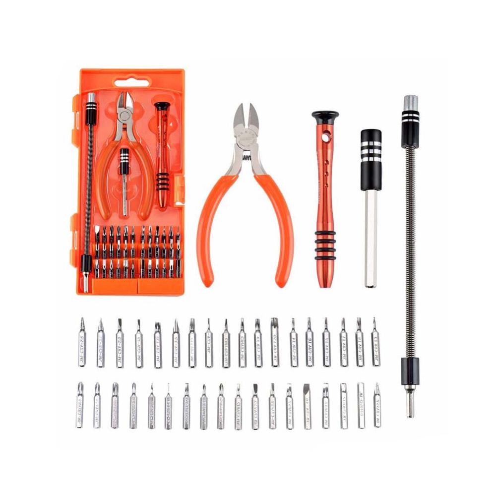 ست ابزار پیچ گوشتی ۴۰ در ۱ JAKEMY JM-8136 تعمیرات موبایل و لپ تاپ