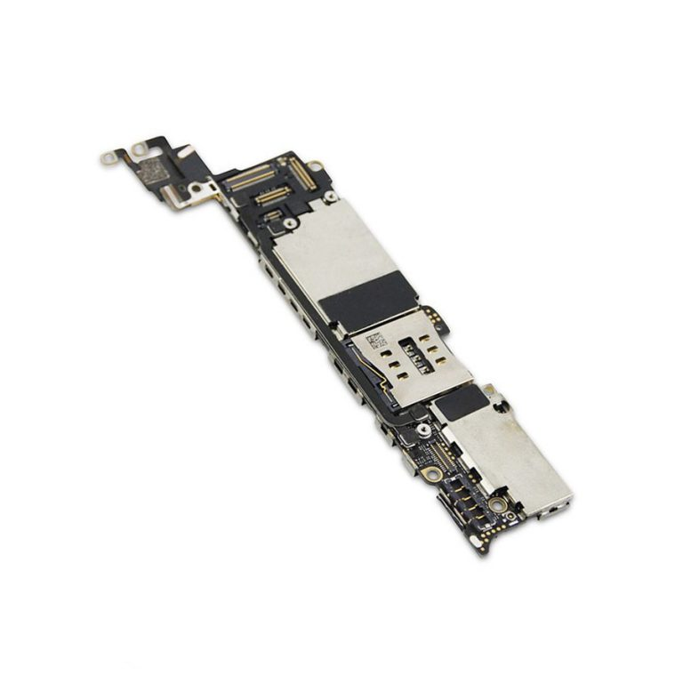 برد آیکلود سالم و روشن IPHONE 5 64GB مناسب تعویض قطعات و SWAP