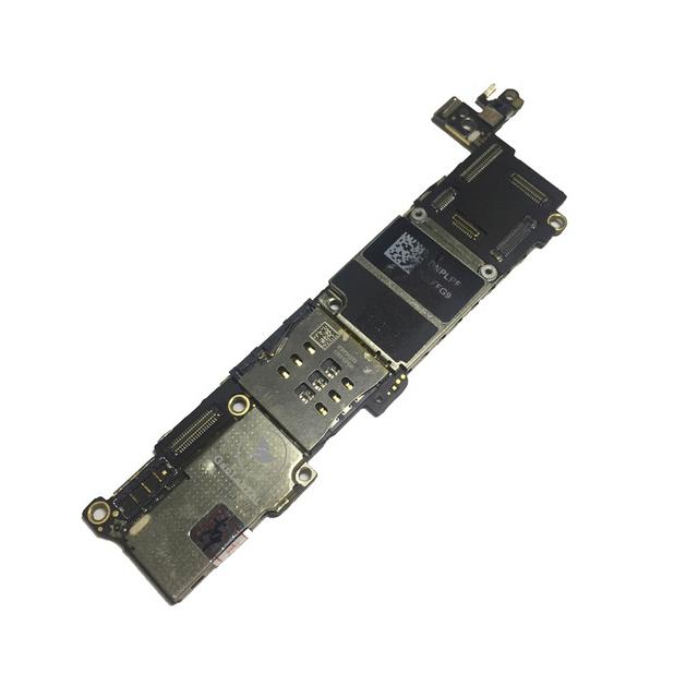 برد آیکلود سالم و روشن IPHONE 5S 64GB مناسب تعویض قطعات و SWAP
