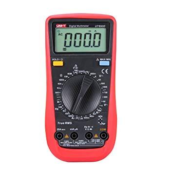 مولتی متر دیجیتالی UNI-T UT890D دقیق و قابل حمل مناسب تعمیر گوشی موبایل
