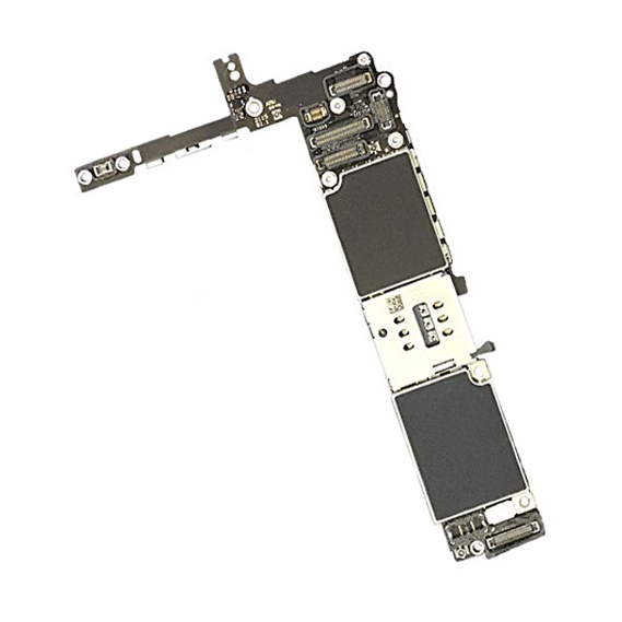 برد آیکلود سالم و روشن IPHONE 6S 128GB برای تعویض قطعات و SWAP