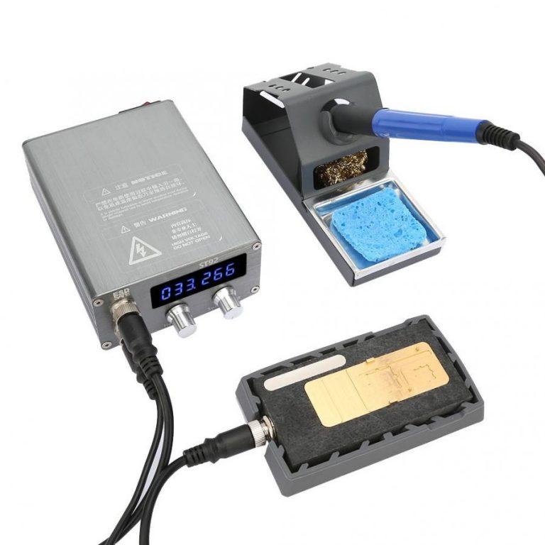پری هیتر و هویه دیجیتال مدل ST92 مناسب برای تعمیرات برد گوشی موبایل آیفونx