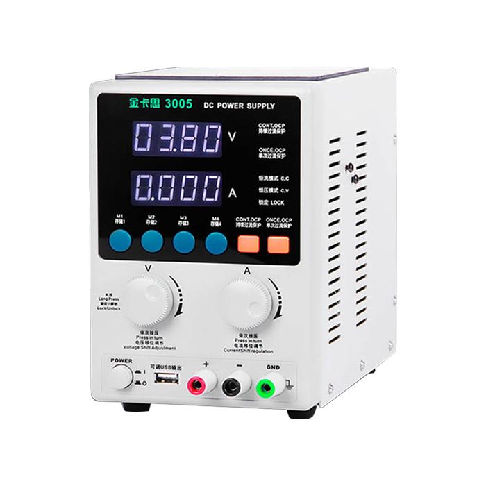منبع تغذیه دیجیتالی ۳۰ ولت ۵ آمپر Kaisi 3005 مناسب تعمیرات گوشی آیفون