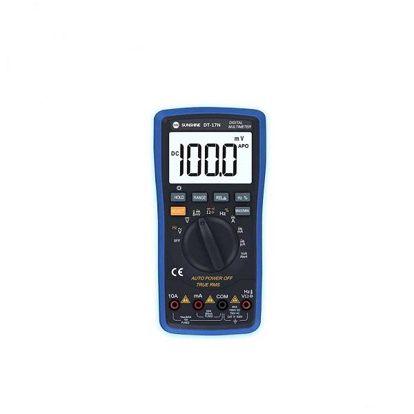 مولتی متر سانشاین Sunshine DT-17N مناسب تشخیص جریان کشی برد گوشی