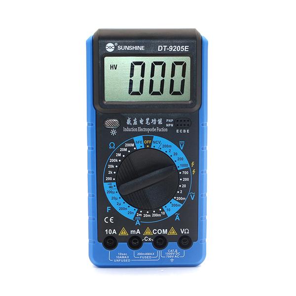 مولتی متر دیجیتالی Sunshine DT-9205E مناسب تست جریان کشی برد موبایل