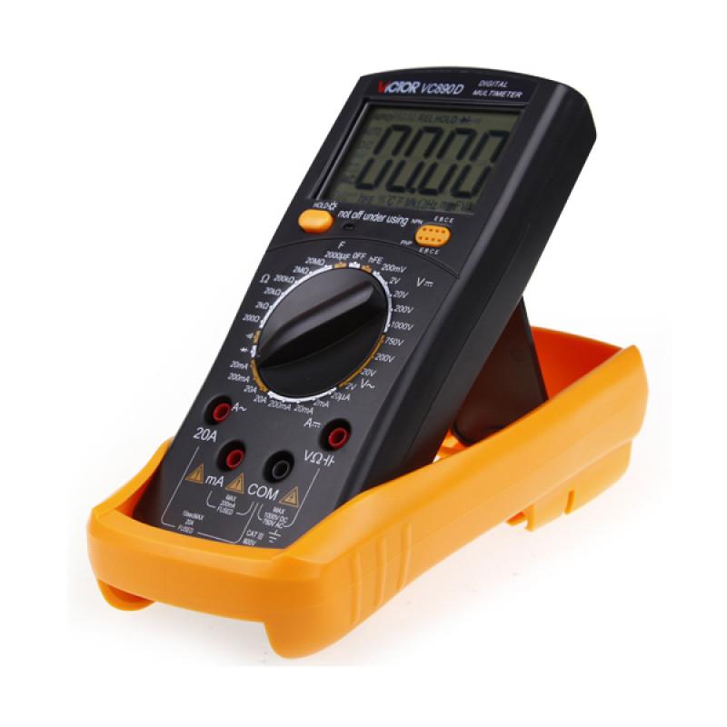 مولتی متر دیجیتالی VICTOR VC890D دقیق و قابل حمل مناسب تعمیرات موبایل