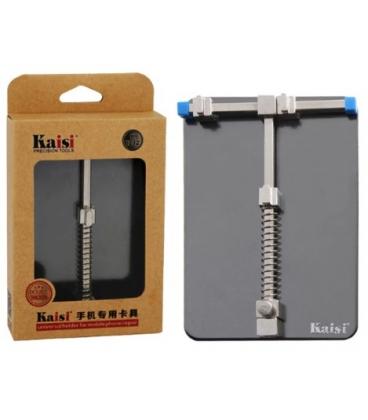 گیره برد ساده kaisi مدل K-1211 مناسب نگه داری برد گوشی هنگام تعمیرات