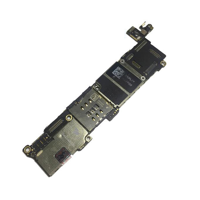 برد آیکلود سالم و روشن IPHONE 5S 16GB مناسب تعویض قطعات و SWAP