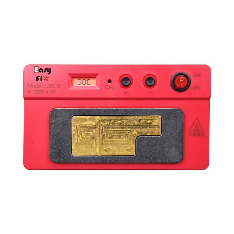پری هیتر EASYFIX مدل 120CX مناسب تعمیرات برد گوشی موبایل آیفون x