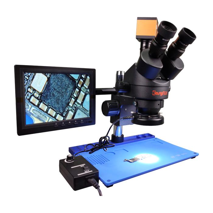 لوپ سه چشم آنالوگ و دیجیتال EasyFix EF30 pro 2 مناسب تعمیرات برد گوشی