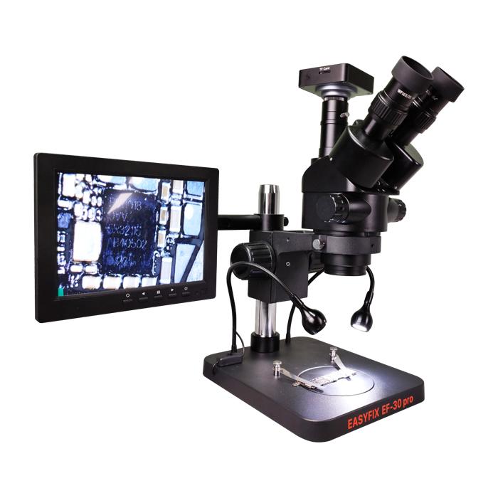 لوپ سه چشم آنالوگ و دیجیتال Easy Fix EF30 pro مناسب تعمیرات برد گوشی
