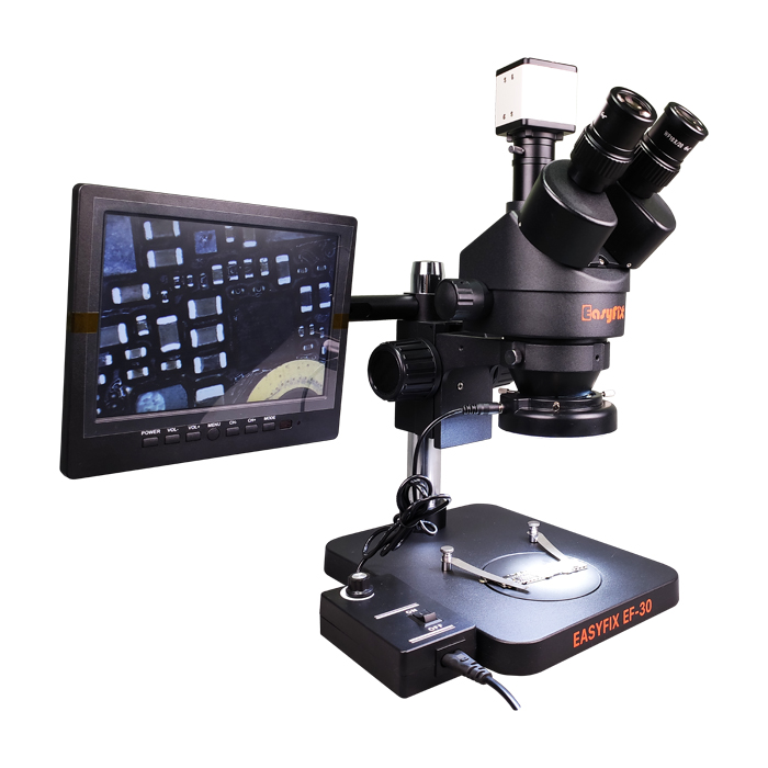 لوپ سه چشم آنالوگ و دیجیتال Easy Fix EF 30 مناسب تعمیرات برد گوشی