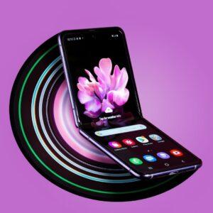کالبد شکافی گوشی موبایل گلکسی زد فیلیپ Galaxy Z Flip و جداسازی قطعات آن