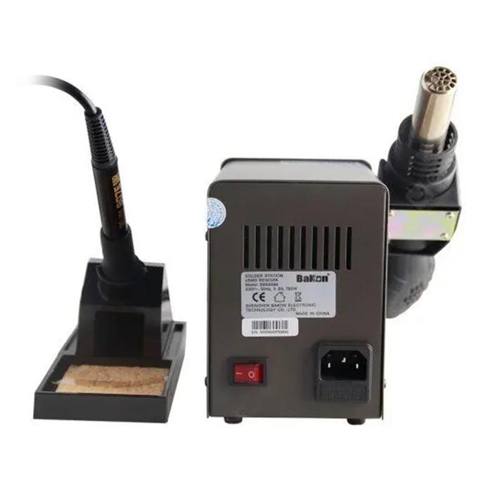 هیتر و هویه دیجیتال BAKON SBK8586 مناسب مونتاژ و تعمیرات برد گوشی موبایل