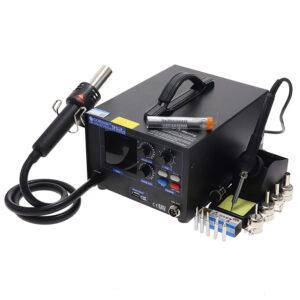 هیتر و هویه گرداک GORDAK 952H دارای پورت USB و مناسب تعمیرات برد
