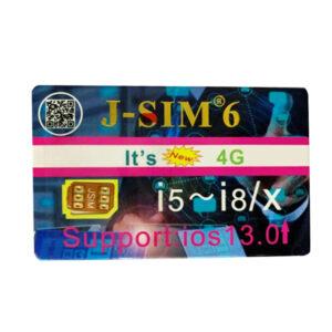 سیم آنلاکر ایفون J-SIM 6
