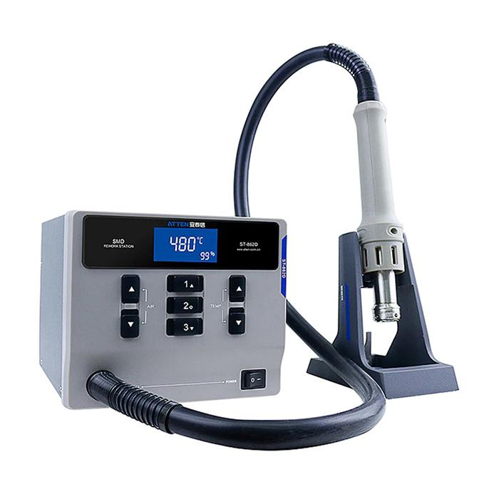 هیتر دیجیتالی آتن ATTEN مدل ST 862D مناسب تعمیرات برد گوشی های موبایل
