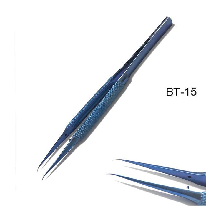 پنس سر کج KAISI BT-15 تیتانیوم نوک تیز مناسب تعمیرات گوشی های موبایل