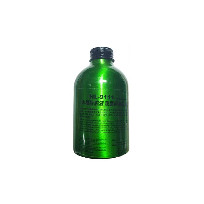 حلال چسب Kaisi HL-9111 مناسب تمیز کردن پلاستیک قاب میانی ال سی دی