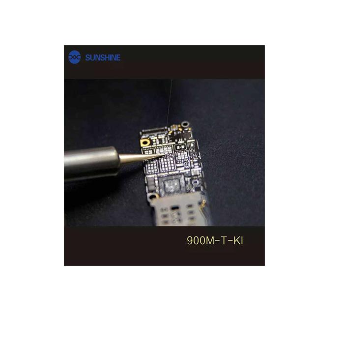 نوک هویه سر صاف ۹۰۰M-T-KI سانشاین مناسب لحیم کاری و تعمیرات موبایل