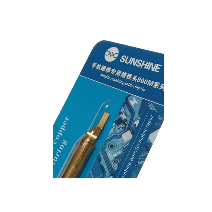 نوک هویه سر تبری ۹۰۰M-T-KK سانشاین مناسب لحیم کاری و تعمیرات موبایل