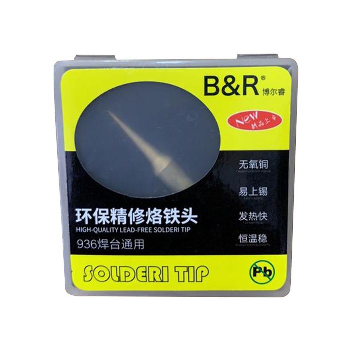 نوک هویه سر صاف B&R 900M-T-I مناسب لحیم کاری و تعمیرات موبایل